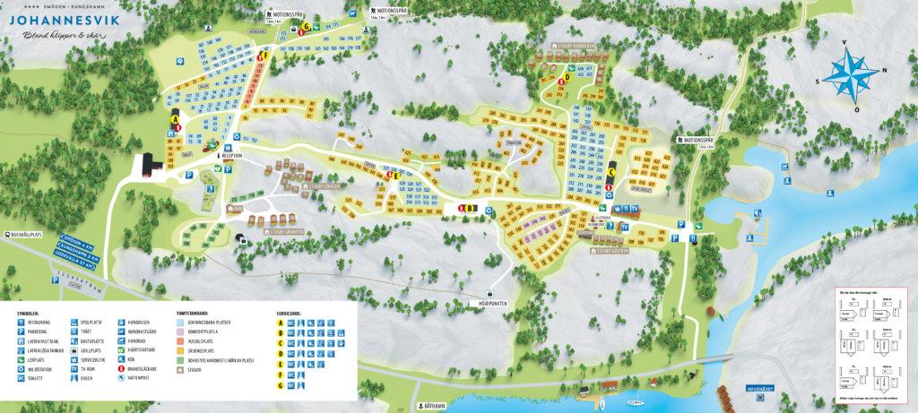 Johannesvik Karta Johannesvik Camping Stugby